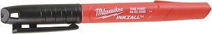 Caneta Marcadora Milwaukee Inkzall Ponta Fina 48-22-3100 - Imagem 3