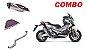 Combo Ponteira + Coletor + Filtro de Ar DNA Honda X-Adv - Imagem 1