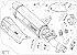Ponteira Akrapovic titânio - Honda Africa Twin 1100 (21~) . - Imagem 3