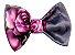 Bico de Pato Infantil Cinza Rosas - Imagem 1