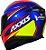 CAPACETE AXXIS EAGLE HYBRID AZUL RACE BRILHANTE - Imagem 3