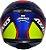 CAPACETE AXXIS EAGLE HYBRID AZUL RACE BRILHANTE - Imagem 4