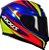 CAPACETE AXXIS EAGLE HYBRID AZUL RACE BRILHANTE - Imagem 6