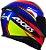 CAPACETE AXXIS EAGLE HYBRID AZUL RACE BRILHANTE - Imagem 5