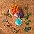 Pingente de florzinhas naturais - Imagem 4