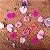 Pingente de florzinhas naturais - Imagem 7