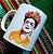 Caneca Frida Kahlo aquarela - Imagem 1
