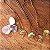 Pingente de Cogumelo com florzinhas naturais - Imagem 4
