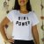 Camiseta/Cropped - GIRL POWER - Imagem 5