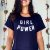 Camiseta/Cropped - GIRL POWER - Imagem 3