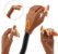 Mão de Treino de manicure Articulada   - Imagem 1