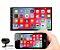 Central Multimídia Mp5 Player Automotivo USB, SD, Bluetooth, Espelhamento Android e iPhone, rádio FM e câmera de ré - Imagem 1