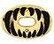 Protetor Bucal Oxygen Predator Gold Chrome Battle - Imagem 1