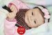 Bebê Reborn Menina Realismo Impressionante Bebê Perfeita E Encantadora Com Lindo Enxoval - Imagem 1