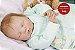 Bebê Reborn Menina Detalhes Reais De Um Bebê De Verdade Acompanha Enxoval E Chupeta - Imagem 2