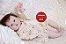 Bebê Reborn Menina Detalhes Reais Princesinha Perfeita E Delicada Toda Em Vinil Articulável - Imagem 1