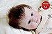 Bebê Reborn Menina Detalhes Reais Princesinha Perfeita E Delicada Toda Em Vinil Articulável - Imagem 2