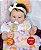 Bebê Reborn Menina Detalhes Reais De Um Bebê De Verdade Lindíssima Com Lindo Enxoval - Imagem 1