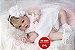 Bebê Reborn Menina Detalhes Reais Muito Fofa Parece Um Bebê De Verdade Com Enxoval E Chupeta - Imagem 2
