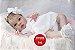 Bebê Reborn Menina Detalhes Reais Muito Fofa Parece Um Bebê De Verdade Com Enxoval E Chupeta - Imagem 1