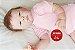 Bebê Reborn Menina Detalhes Reais Bebê Encantadora E Perfeita Com Enxoval E Chupeta - Imagem 2