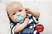 Bebê Reborn Menino Super Realista Uma Fofura De Bebê Com Lindo Enxoval E Chupeta Promoção - Imagem 1