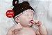 Bebê Reborn Menina Detalhes Reais Toda Em Vinil Siliconado Com Membros Articuláveis Lindíssima - Imagem 1