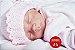 Bebê Reborn Menina Detalhes Reais Lindíssima Parece Um Bebê De Verdade Acompanha Acessórios - Imagem 2