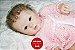 Bebê Reborn Menina Detalhes Reais Bebê Delicada E Recém Nascida Com Enxoval E Chupeta - Imagem 2