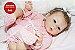 Bebê Reborn Menina Detalhes Reais Bebê Delicada E Recém Nascida Com Enxoval E Chupeta - Imagem 1