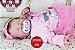 Bebê Reborn Menina Detalhes Reais Com Lindo Enxoval E Acessórios Bebê Encantadora - Imagem 1