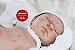 Bebê Reborn Menino Super Realista Bebê Sofisticado Todo Em Vinil Articulável Com Lindo Enxoval - Imagem 2