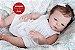 Bebê Reborn Menina Detalhes Reais Bebê Maravilhosa Com Corpo Todo Em Vinil Siliconado - Imagem 1