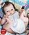 Bebê Reborn Menina Detalhes Reais Bebê Maravilhosa Com Corpo Todo Em Vinil Siliconado - Imagem 2