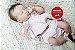 Bebê Reborn Menina Detalhes Reais Boneca Maravilhosa Toda Em Vinil Siliconado Acompanha Enxoval - Imagem 2