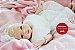 Boneca Bebê Reborn Menina Realista Bebê Loirinha Muito Linda E Fofa Com Enxoval E Acessórios - Imagem 2