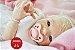 Boneca Bebê Reborn Menina Realista Bebê Loirinha Muito Linda E Fofa Com Enxoval E Acessórios - Imagem 1