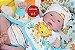 Bebê Reborn Menino Detalhes Reais Com Enxoval E Chupeta Bebê Reborn Bonito Recém Nascido - Imagem 1