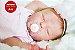 Bebê Reborn Menina Bebê Quase Real Princesinha Bonita Com Enxoval E Uma Linda Chupeta - Imagem 1