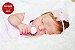 Bebê Reborn Menina Bebê Quase Real Princesinha Bonita Com Enxoval E Uma Linda Chupeta - Imagem 2