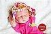 Bebê Reborn Menina Detalhes Reais Perfeitinha E Delicada Acompanha Enxoval E Chupeta - Imagem 1