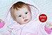 Boneca Bebê Reborn Menina Bebê Quase Real Princesa Encantadora Acompanha Lindo Enxoval - Imagem 1