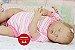 Bebê Reborn Menina Detalhes Reais De Um Bebê Linda E Muito Fofa Com Enxoval E Chupeta - Imagem 2