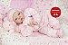Boneca Bebê Reborn Menina Realista Parece Um Bebê De Verdade Com Enxoval E Chupeta - Imagem 1