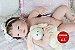 Bebê Reborn Menina Detalhes Reais Princesinha Sofisticada Com Corpo Em Vinil Siliconado - Imagem 1