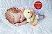 Boneca Bebê Reborn Menina Realista Super Linda E Encantadora Acompanha Enxoval E Acessórios - Imagem 2