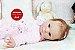 Bebê Reborn Menina Detalhes Reais Boneca Real Lindíssima Um Verdadeiro Presente Com Enxoval - Imagem 2