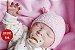 Bebê Reborn Menina Super Realista Com Detalhes Sofisticados Acompanha Lindo Enxoval - Imagem 2