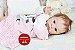 Bebê Reborn Menina Detalhes Reais De Um Bebê De Verdade Acompanha Enxoval E Acessórios - Imagem 2