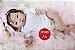 Bebê Reborn Menina Realista Com Detalhes De Um Bebê De Verdade Acompanha Lindo Enxoval - Imagem 2